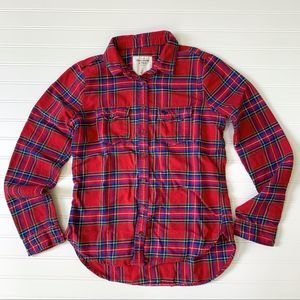 Abercrombie Vintage Flannel Size Small
